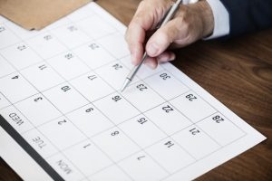 Calendário financeiro: a importância dele e como criá-lo
