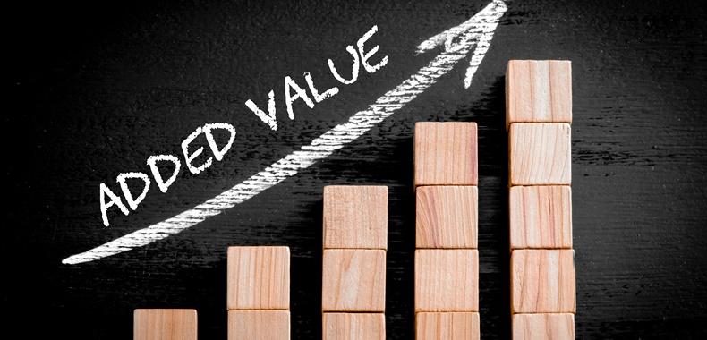 Valor agregado se transforma em possibilidade de vender mais
